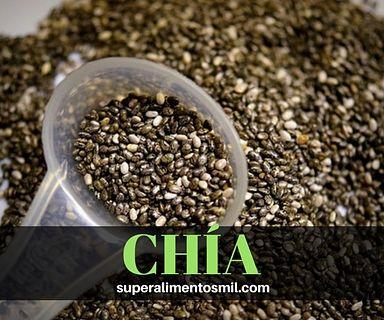 Semillas de CHIA, lo que no sabes
